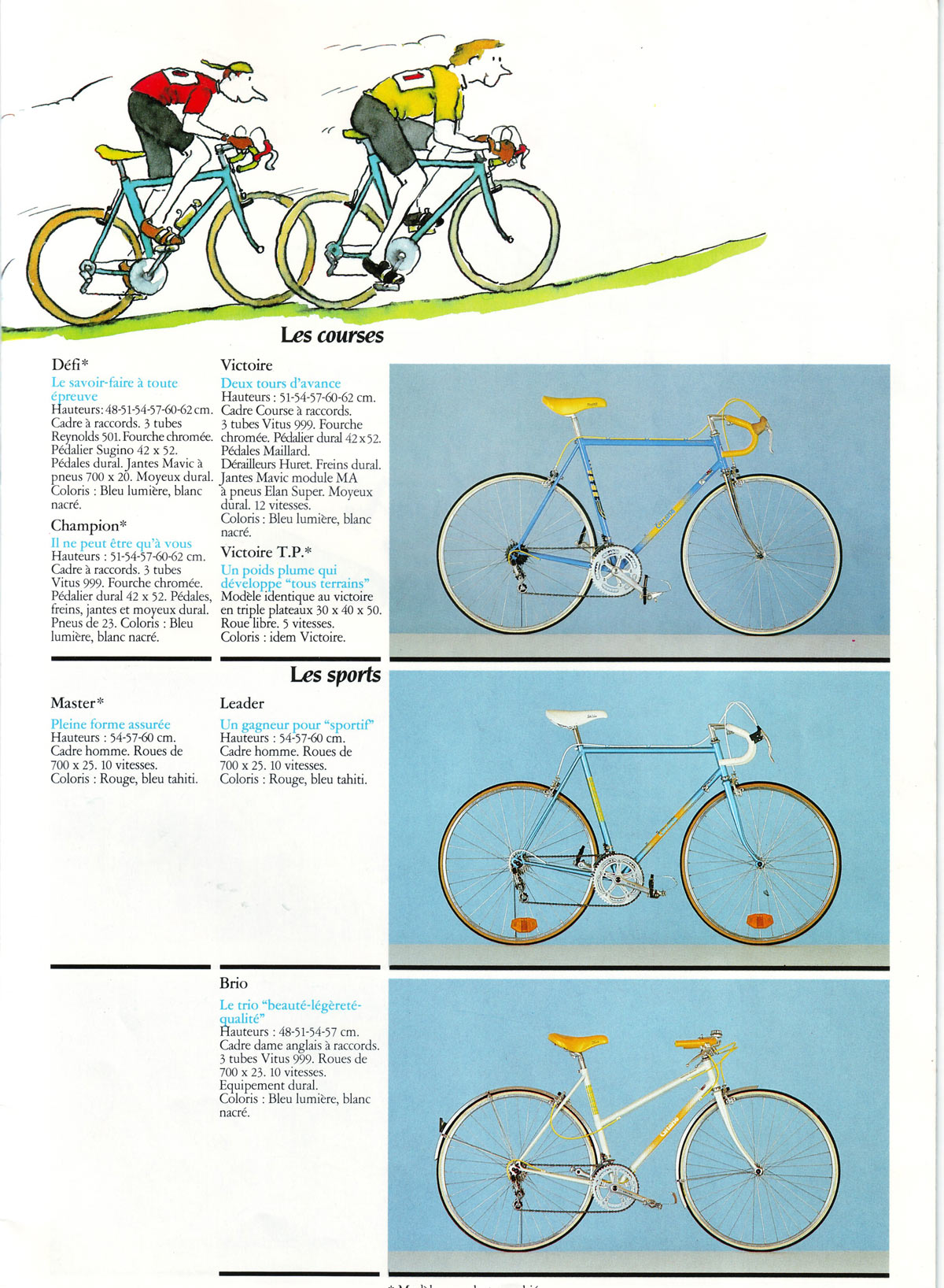 gitane victoire 1987 special eroica 1986French3
