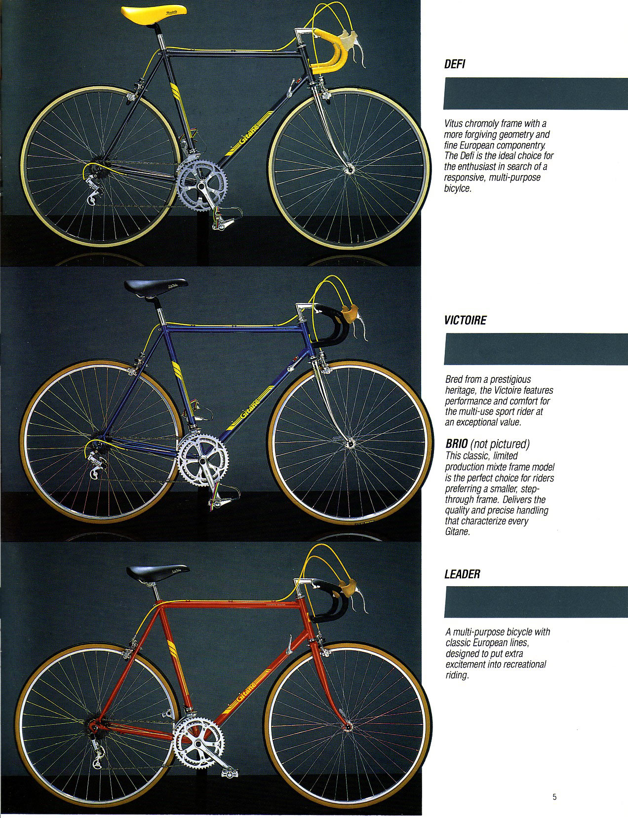 Bikes Catalog Gitane catalog here